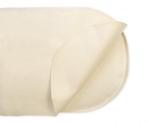 organic oval bassinet waterproof protector pad