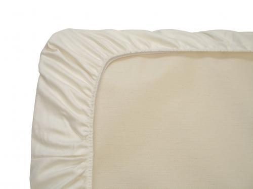 organic cotton sheets: flannel or sateen (ivory)