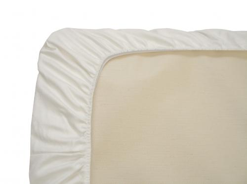 organic cotton sheets: flannel or sateen (white)